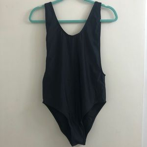 NWT Misguided High Leg Onepiece